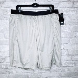 NWT Adidas Climalite w/ Pockets Workout Shorts XL